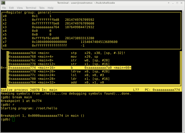A Guide to ARM64 / AArch64 Assembly on Linux with Shellcodes and